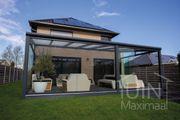 Aluminium Terrassenüberdachung 6 Meter Breite -