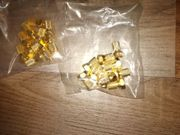 F stecker gold Gummidichtung 7mm