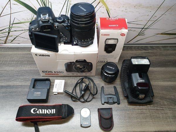 Canon EOS 650D Kit - inkl