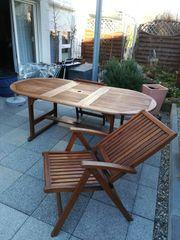 Gartenmöbel Set 7 - teilig gebraucht