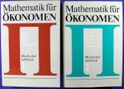 Mathematik für Ökonomen Teil 1