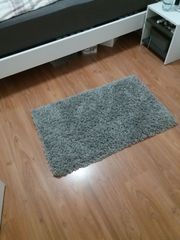 Grauer Teppich Wohnzimmerteppich