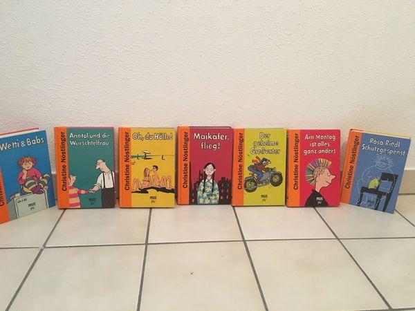 Über 50 Kinder- und Jugendbücher