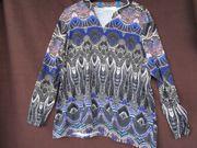 Gr 48 Trendiges Langarm-Shirt - mit