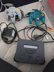 Nintendo N64 Konsole 4 Spiele