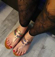 Schöne Füße wollen verwöhnt werden