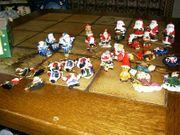 38 tlg Konvolut Weihnachtsdekoanhänger