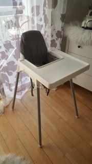 Hochstuhl Ikea mit Tisch und