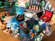Playmobil Pirateninsel 4164 mit viel