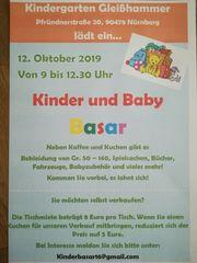 Baby- und Kinderbasar Kindergarten Gleisshammer