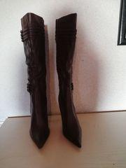 Neue High Heels Stiefel - Bordeaux