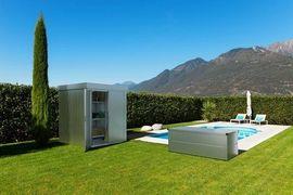 Sonstiges für den Garten, Balkon, Terrasse - Ilesto Gartenhaus John Gartenhütte Doppeltüre