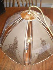 Wohnzimmerlampe Esszimmerlampe Rauchglas Landhaus