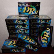 Musik-Cassetten Fuji DR2 90 Minuten