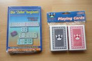 Diverse Gesellschaftsspiele Karten etc