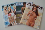 3 Playboy Hefte Jahr 2014