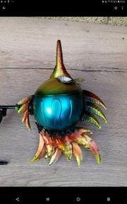 gartenstecker solarleuchte fisch sux Metall