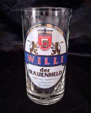 Bierglas Glaskrug mit Henkel 0