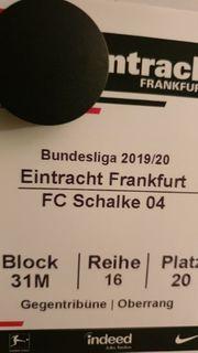 Ticket Eintracht Frankfurt-Fc Schalke 04