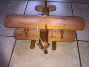 Holzspielzeug FLUGZEUG Kinder Deko Wohnzimmer