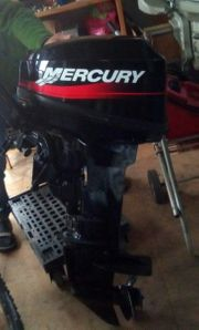 Bootsmotor MERCURY 8 PS voll