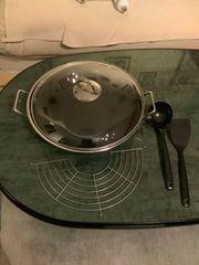 Silit Wok mit Glasdeckel Silirgan