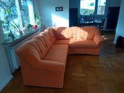 Microfaser-Sofa zu verkaufen - sehr gut