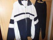 Trainingsanzug Gr 52 54 dunkelblau