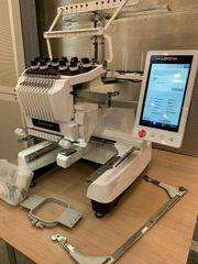Brother PR-1000 Ein-Kopf TOP Stickmaschine-Gebraucht-Textilveredelung