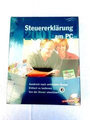 Computer Software Steuererklärung am PC