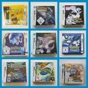 versch Pokemon Spiele Nintendo 3