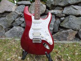Gitarren/-zubehör - Fender Mexican Stratocaster CAR HSS