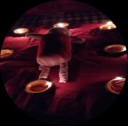 Voodoo Rituale der schwarzen und