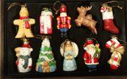 Weihnachtsbaumschmuck aus Porzellan von Thomas