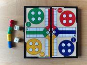 Magnet-Spiel Ludo Mensch-ärgere-dich-nicht für unterwegs