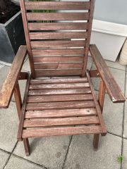 2 Hochlehner Gartenstühle Applarô