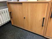 Werndl Büromöbel kleines Sideboard mit