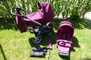 Teutonia Be You Kombi-Kinderwagen Farbton