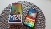 Samsung Galaxy M20 Charcoal Black