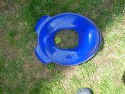 Kinder Toilettensitz Kunststoff blau