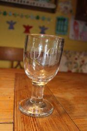 Biedermeier Gläser Sammlung