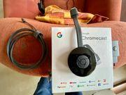 Google Chromecast OVP wie neu