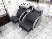 Ambience Friseur Doppel Waschbeckensystem