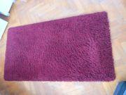 Teppich Rot und flauschig