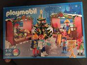 Playmobil Weihnachtsmarkt 4891 Karussell 4888
