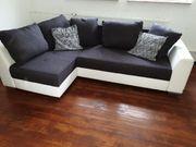 Sofa weiß grau