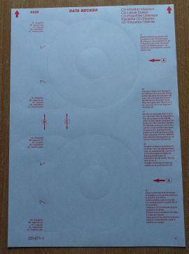 DATA BECKER CD-Etiketten klassisch 67: Kleinanzeigen aus Großharthau - Rubrik Büromaterial