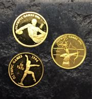 3 Goldmünzen reines Gold