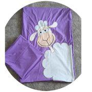 Kinder Bettwäsche lila mit einen