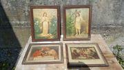 Verschiedene Heiligenbilder